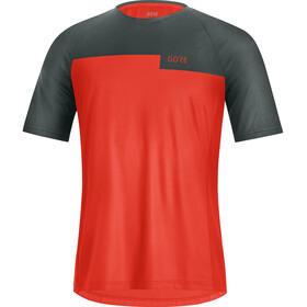 GORE WEAR Trail Shirt Men, rojo